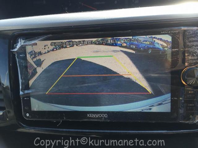 AZR60G系ノア・ヴォクシーの純正バックカメラを市販の社外ナビに付ける方法