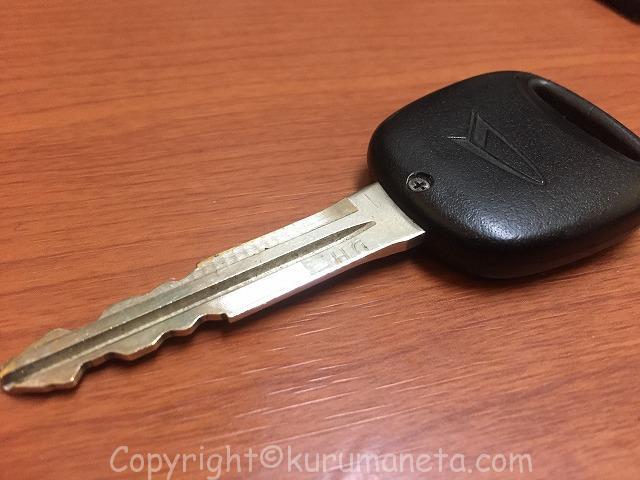 L900系ムーヴのキーレス(鍵)の電池交換方法(写真あり