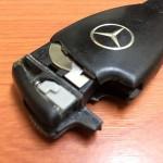 W211系ベンツのキーレス電池交換方法
