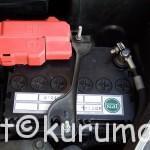 GE型フィットのバッテリー交換方法