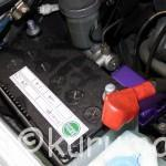 JB23型ジムニーのバッテリー交換方法