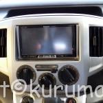 NV200バネットワゴン・バンのカーナビ、オーディオ取付・外し・交換方法
