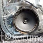BP・BL系レガシィ(ツーリングワゴン・B4・アウトバック)のフロントドアスピーカー交換方法