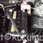 L675S型のミラココアのバッテリー交換方法